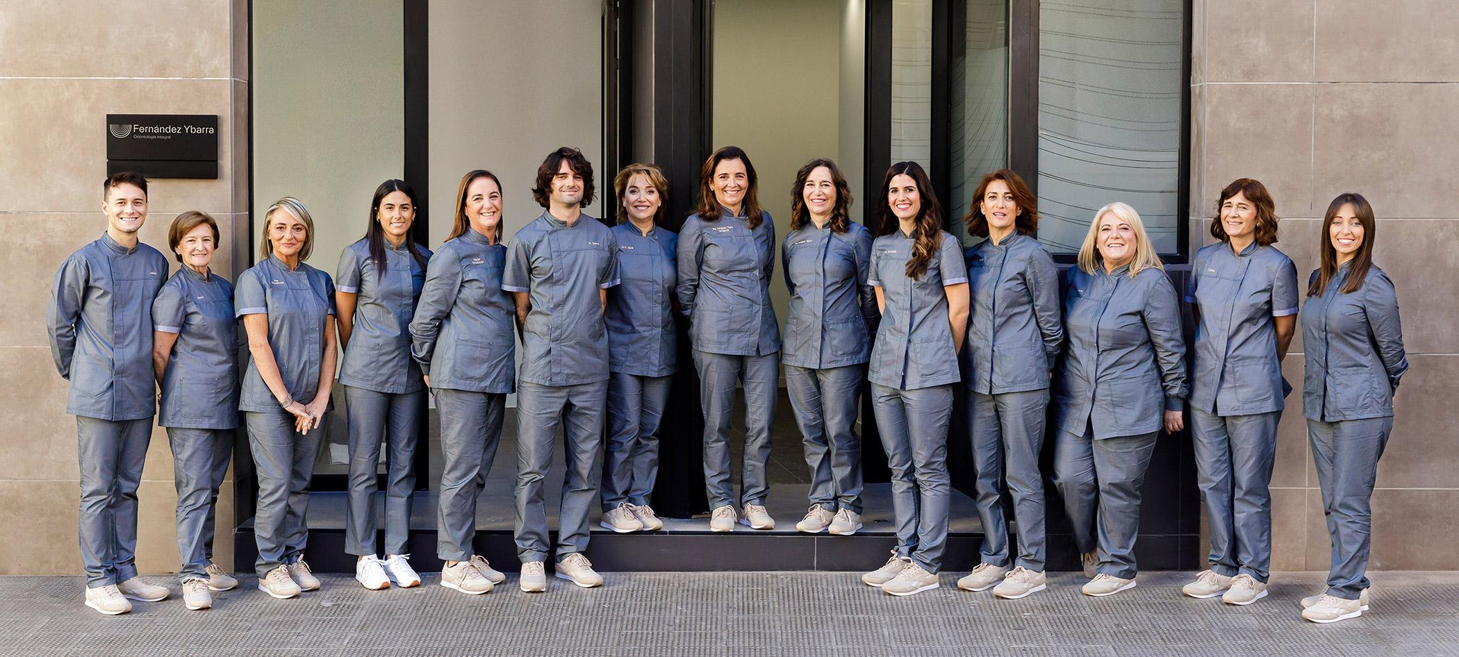 Equipo clinica dental fernandez ybarra